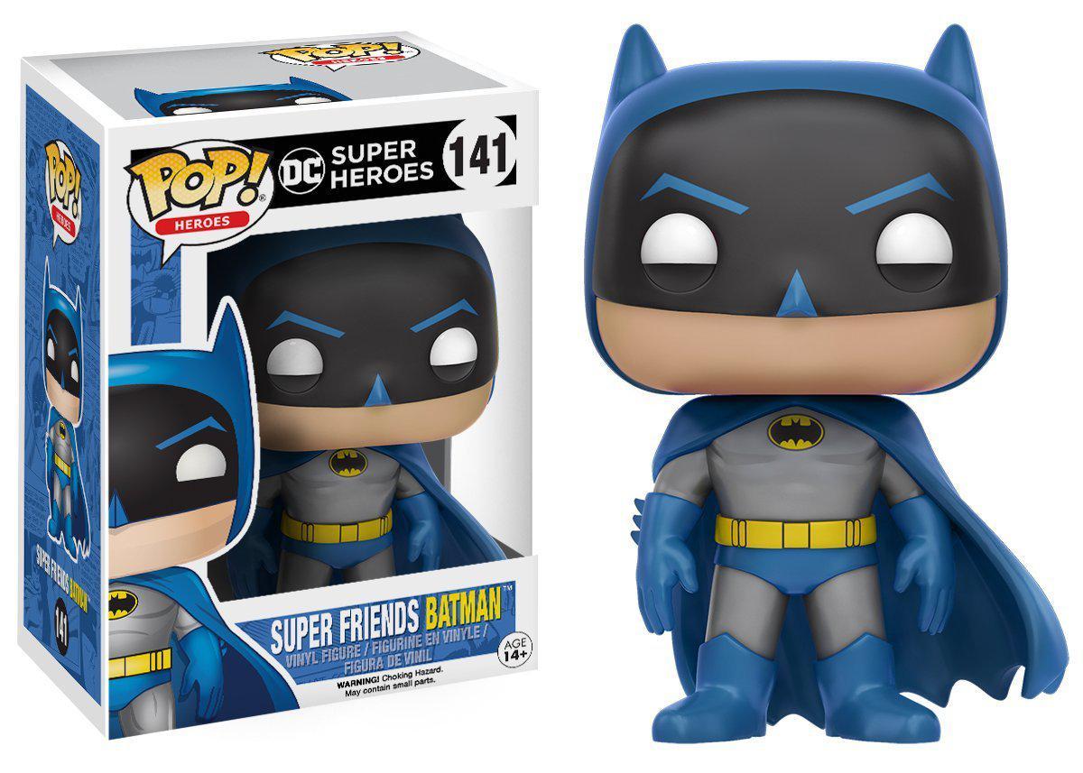 Funko POP! Heroes DC Comics Виниловая Фигурка Бэтмен «Супер Друзья» №141
