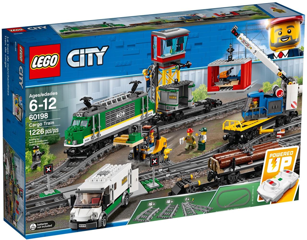 60198 Lego City Товарный поезд, Лего Город Сити
