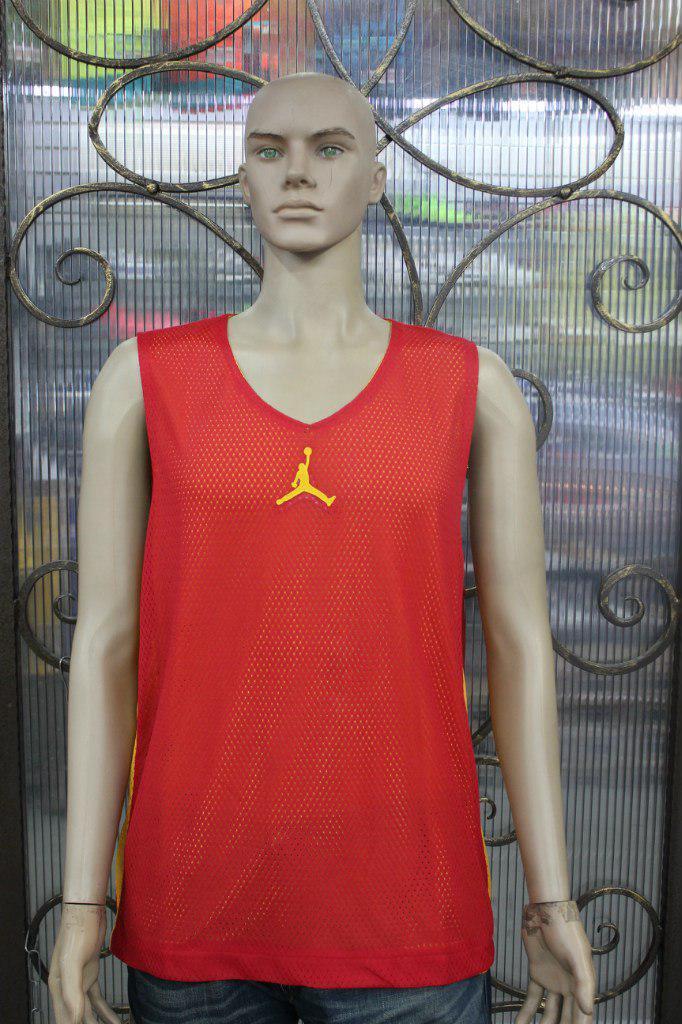 Баскетбольный Костюм Jordan  желто/красный