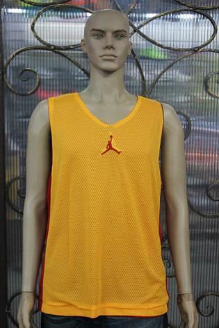 Баскетбольный Костюм Jordan  желто/красный, фото 2