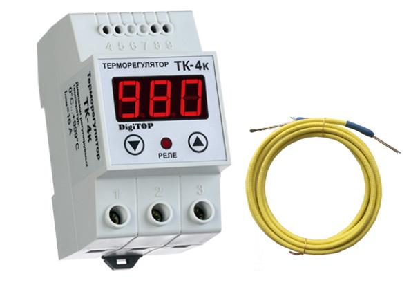 Терморегулятор ТК-4к (0 … 999°C, 16А)