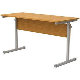 Стол-парта 2-мест. регулир. (ш1200*г500*в520-640мм) 2-4гр, серый каркас, ЛДСП бук, Ш-304 (2-4)
