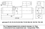 Гидрораспределитель ВЕ6.44 аналог 1РЕ6 44 (Г12, Г24, В110, В220), фото 2