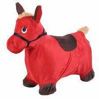 Прыгун-животное Spring Пони красный