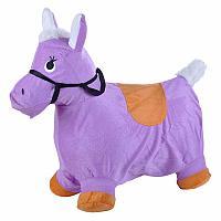 Прыгун-животное Spring Пони сиреневый