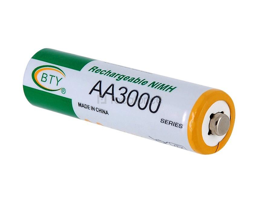 Пальчиковый аккумулятор BTY AA 3000mAh Ni-MH 1.2V 1шт