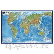 Карта GLOBEN Мир Физический 1:29