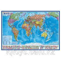Карта GLOBEN Мир Политический 1:28