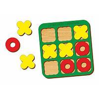 Логическая игра WOODLAND Крестики-нолики