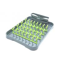 7103 FISSMAN Сушилка для тарелок и столовых приборов 42x32x10 см (пластик)