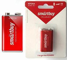 Батарейка 6LR61 SmartBuy 9V Alkaline ( крона )