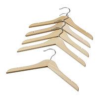 Плечики детские ХЭНГА естественный 5 шт. ИКЕА, IKEA