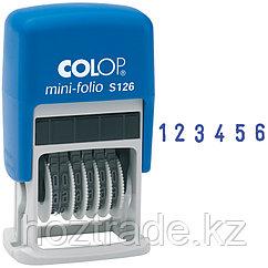 Нумератор мини-автомат Colop, 3,6 мм, 6 разрядов