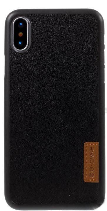 Кожаный чехол G-case для iPhone X/ iPhone 10 (черный)