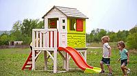 Детский домик на сваях с горкой Smoby 810800, фото 1