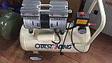 Воздушный бесшумный компрессор ТСН ZZ 1130/30л, фото 6