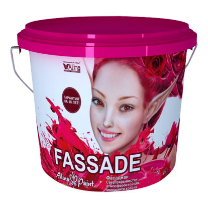 Фасадная акриловая краска Fassade 3 кг  купить в Павлодаре