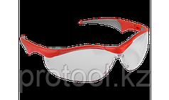 """Очки ЗУБР """"МАСТЕР"""" защитные, прозрачные, поликарбонатная монолинза с мягкими двухкомпонентными дужками"""