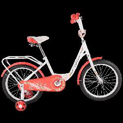 """Детский велосипед Tech Team 131 - 16"""" Красный"""