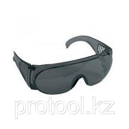 """Очки STAYER """"STANDARD"""" защитные, поликарбонатная монолинза с боковой вентиляцией, серые, фото 2"""