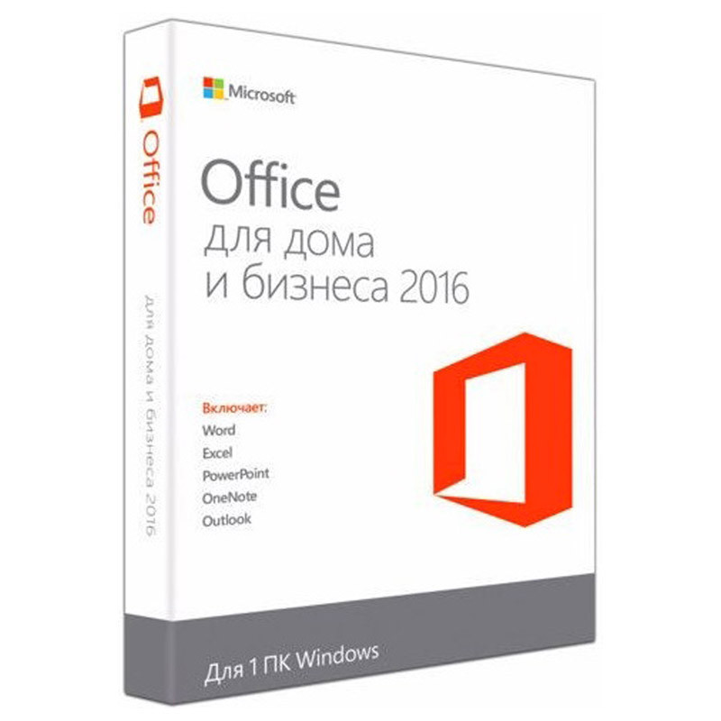 Microsoft Office Home and Business 2016 32/64 P2 T5D-02704