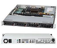 Сервер Supermicro Rack 1U CSE-813MFTQC-505\X11SSl-F