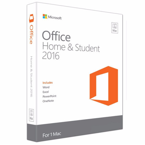 Office Mac Home Student 2016 Russian Kazakhstan Only Mdls P2 GZA-00902
