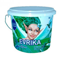 Универсальная матовая эмаль на водной основе Evrika 1 кг