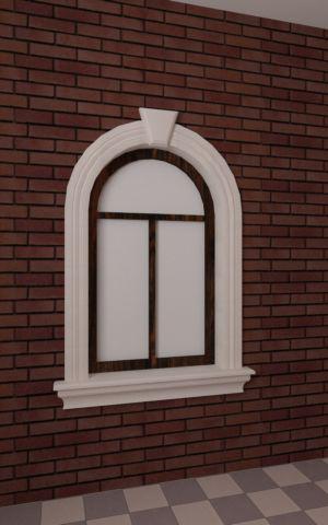 Фасадный декор окон