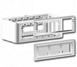 DKC 09051 Вертикальное расширение напольной башенки BUS, белое