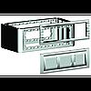 DKC 09071 Вертикальное расширение напольной башенки BUS, серое