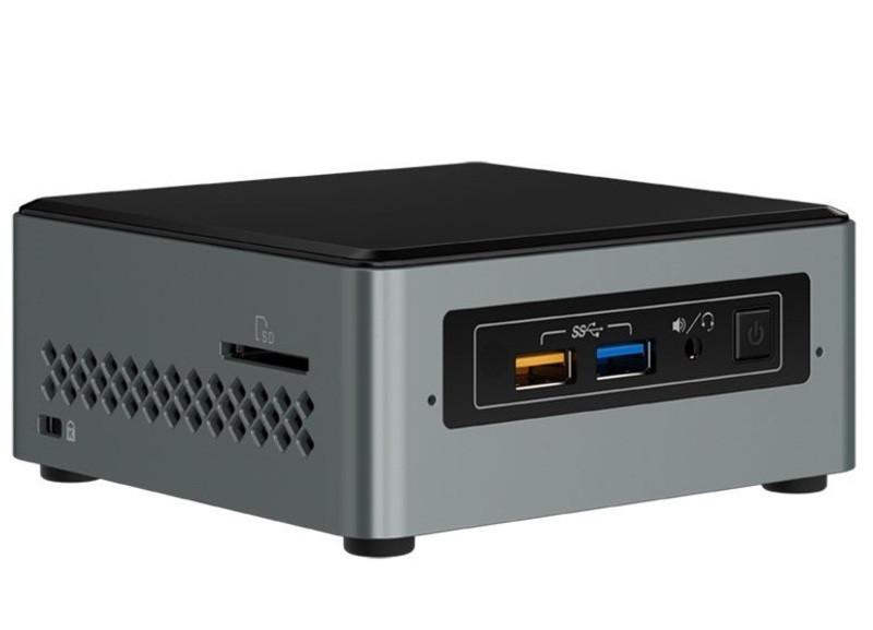 Intel BOXNUC7CJYH2 мини ПК Комплект NUC с процессорами Intel® Celeron®