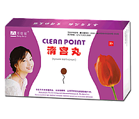 Лечебно-профилактические тампоны Clean Point предназначены для очистки и лечения матки.