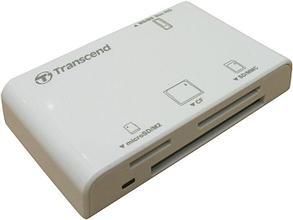 Картридер Transcend TS-RDP8W белый, фото 2