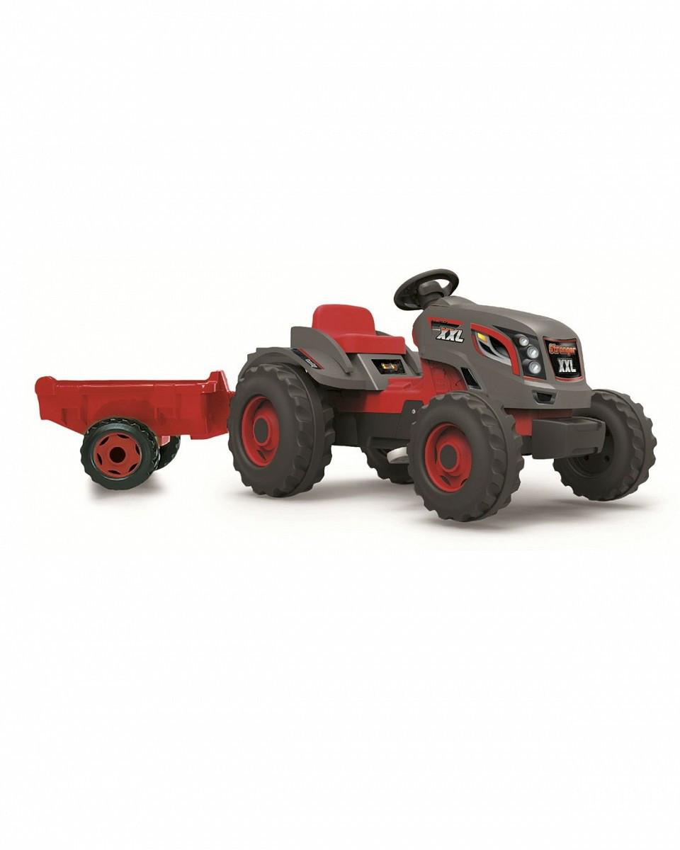 Трактор педальный XXL с прицепом, 160*59*56см арт. 710200 - фото 1