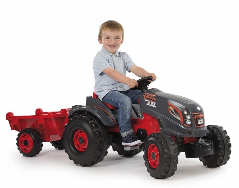 Трактор педальный XXL с прицепом, 160*59*56см арт. 710200 - фото 2