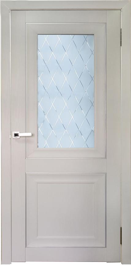 Дверь Аура Белый ясень