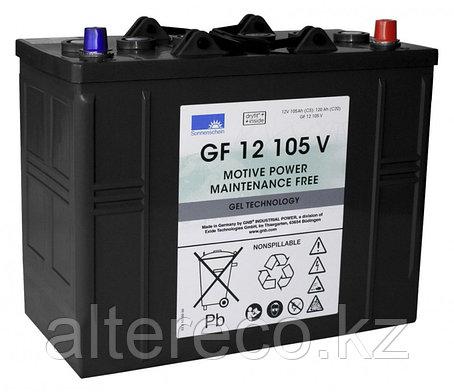 Тяговый аккумулятор Sonnenschein (Exide) GF 12 105 V, фото 2