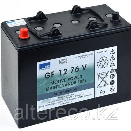 Тяговый аккумулятор Sonnenschein (Exide) GF 12 076 V (12В, 76Ач), фото 2