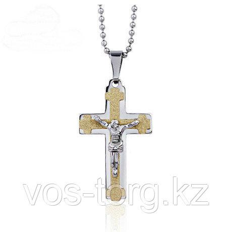 """Кулон-крестик  """"Крест"""""""