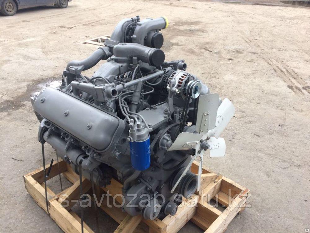 Двигатель (индивидуальной сборки)на нового заводском блоке без кпп и сцеп., вал номинал ЯМЗ 236НЕ-1000186