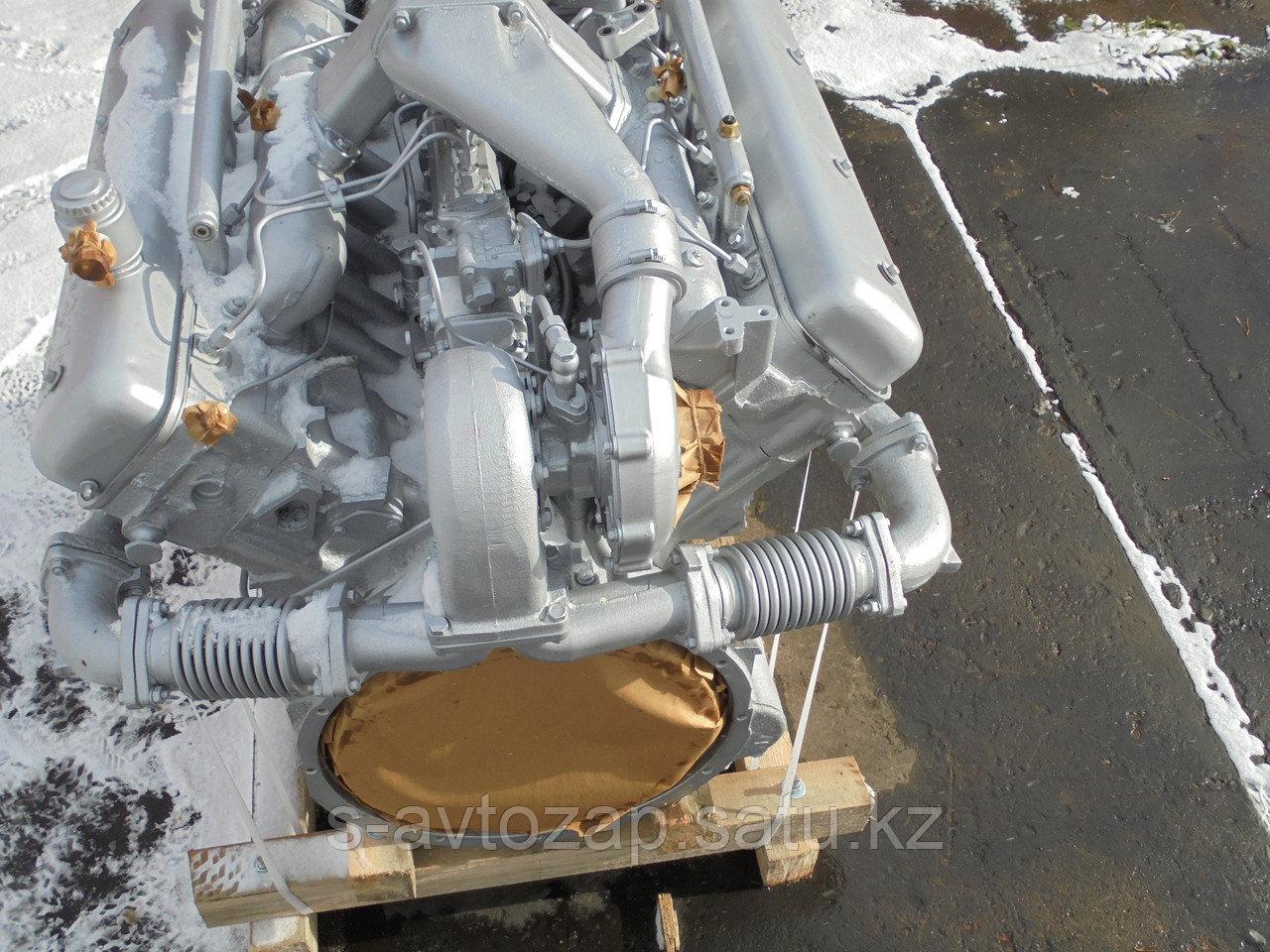 Двигатель без коробки передач и сцепления осн. комплектации (ПАО Автодизель) для двигателя ЯМЗ  238НД6-1000186