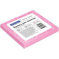 Клейкие листки OfficeSpace 75х75 мм, розовые, 100 листов