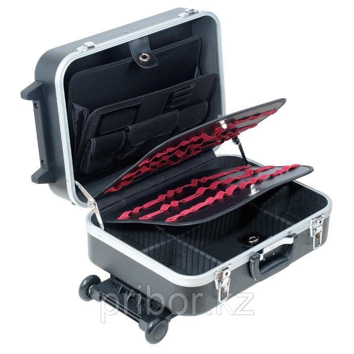 Pro'sKit TC-311 Большой кейс из твердого пластика (ABS) на колесиках и с телескопической ручкой