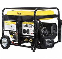 Бензиновая сварочная генераторная установка WG 210Е, 5,0 кВт, 220В, бак 25 л, электрост.//DENZEL 94653  (002)