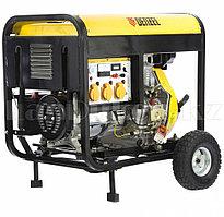 Генератор дизельный DD6300Е, 5,0 кВт, 220В/50Гц, 15 л, электростартер 94657  (002)