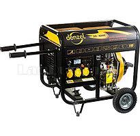 Генератор дизельный DD5800Е, 5 кВт, 220В/50Гц, 12.5 л, электростартер 94670  (002)