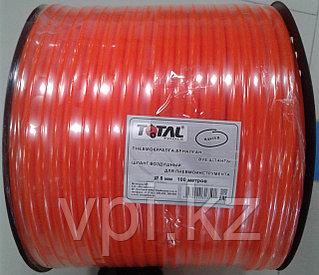 Шланг воздушный для компрессора, 8мм, 12 АТМ, PE (оранжевый), TOTAL TOOLS, цена за 1м.