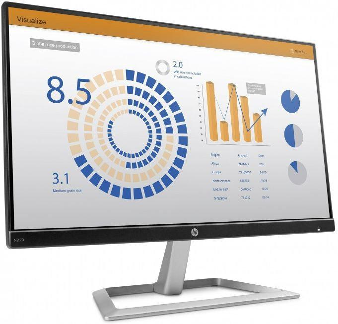 "Монитор HP 3ML20AA N220 21.5"" IPS LED Monitor 1920x1080@60 Hz"