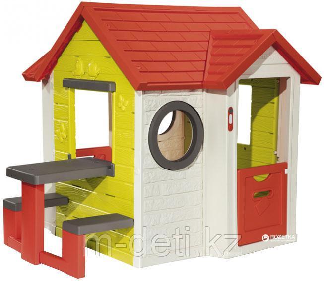 Игровой детский домик со столом 810401 Smoby